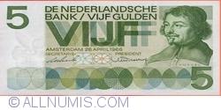 Imaginea #1 a 5 Guldeni 1966 (26. IV.)