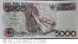 Imaginea #1 a 5000 Rupiah 1992/1998