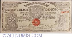 20 Pesos 1900 (30. IX.)