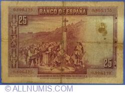25 Pesetas 1928 (15. VIII.)