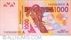 Image #1 of 1000 Francs 2003/2014