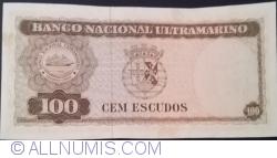 100 Escudos 1963 (25. IV.) - signatures Luís Pereira Coutinho / Francisco José Vieira Machado
