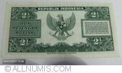Image #2 of 2  1/2 Rupiah 1951