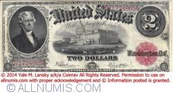 2 Dollars 1917