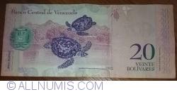 Imaginea #2 a 20 Bolivares 2009 (3. IX.)