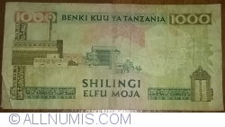 Image #2 of 1000 Shilingi ND (1993)