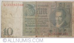 Image #1 of 10 Reichsmark 1929 (22. I.) - K
