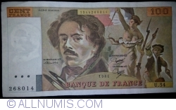Image #1 of 100 Francs 1981