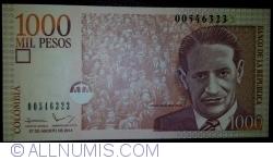 Imaginea #1 a 1000 Pesos 2014 (27. VIII.)