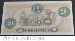 Imaginea #2 a 20 Pesos Oro 1982 (1. I.)