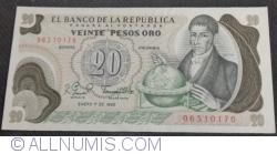 Imaginea #1 a 20 Pesos Oro 1982 (1. I.)