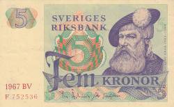 Image #1 of 5 Kronor 1967