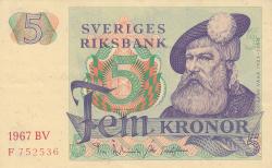 Imaginea #1 a 5 Coroane 1967