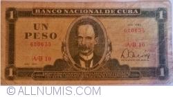 Image #1 of 1 Pesos 1980