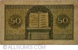 Image #2 of 50 Centavos L.1947 (1950