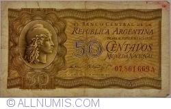 Image #1 of 50 Centavos L.1947 (1950