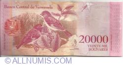 20 000 Bolivares 2017 (13. XII.)
