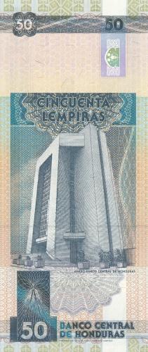 Imaginea #2 a 50 Lempiras 1994 (12. V.)