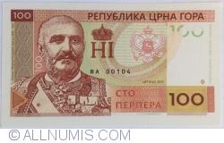 Imaginea #1 a Muntenegru - 100 Perperi 2015