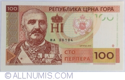 Image #1 of Montenegro - 100 Perpera 2015
