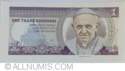 Image #1 of Vatican - 1 Deo Gratias 2015
