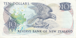 Image #2 of 10 Dollars ND (1985-1989)
