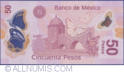 Image #2 of 50 Pesos 2013 (10. VI.) - Serie J