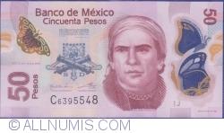 Image #1 of 50 Pesos 2013 (10. VI.) - Serie J