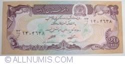 Image #1 of 20 Afghanis 1979 (SH 1358 - ١٣٥٨)
