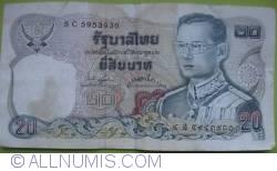 Image #1 of 20 Baht BE 2524 (1981) - signatures Somkid Jatusripitak/ Chatumonkol Sonakul (73)