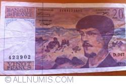 Image #2 of 20 Francs 1995