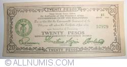 Imaginea #1 a 20 Pesos 1944