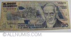 Image #1 of 20 Nuevos Pesos 1992 (31. VII.)