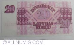 Image #1 of 20 Rublu 1992