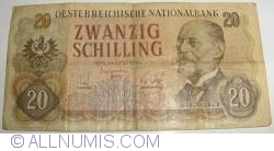 Image #1 of 20 Schilling 1956 (2. VII.)