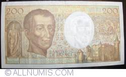 Image #2 of 200 Francs 1992
