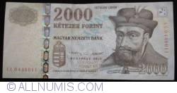 Imaginea #1 a 2000 Forint 2013