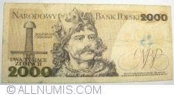 Image #2 of 2000 Zlotych 1982 (1. VI.)