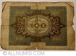 Imaginea #2 a 100 Mark 1920 (1. XI.) - Q