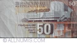 Imaginea #2 a 50 Markka 1986 (1991) - semnături Sorsa / Koivikko