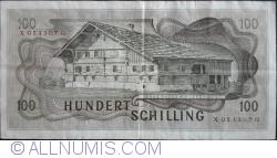 "Image #2 of 100 Schilling 1969 (2. I.) (1981) - overprint ""2 AUFLAGE"""