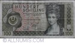 "Image #1 of 100 Schilling 1969 (2. I.) (1981) - overprint ""2 AUFLAGE"""
