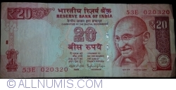 Image #1 of 20 Rupees 2014