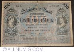 Image #1 of 100 Mark 1911 (2. I.) - Ser. V (2)
