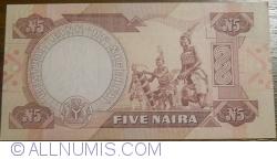Imaginea #2 a 5 Naira ND (1984-)