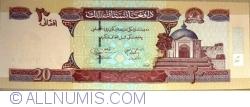 Image #1 of 20 Afghanis 2004 (SH 1383 - ١٣٨٣)