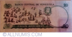 Imaginea #2 a 20 Bolivares 1987 (20. X.)