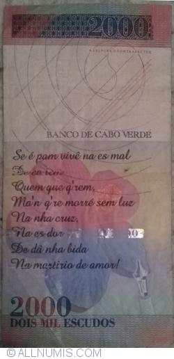 Image #2 of 2000 Escudos 1999 (1. VII.)