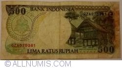 Image #2 of 500 Rupiah 1992/1994