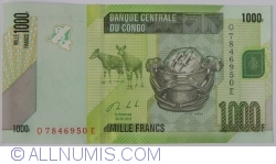 Image #1 of 1000 Francs 2013 (30.VI.)